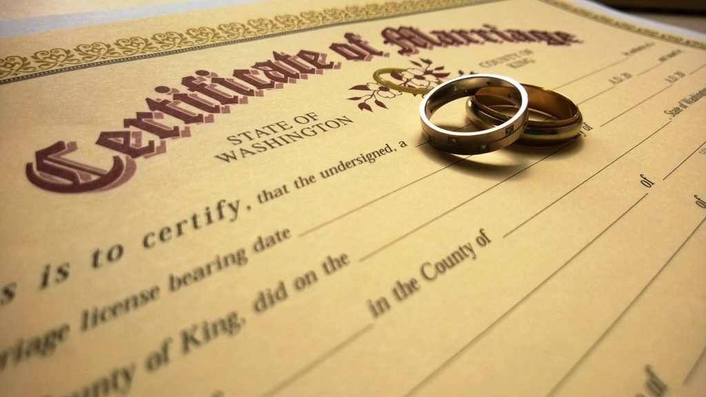 replacement marriage certificate online